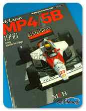Libro  Model Factory Hiro - JOE HONDA Racing Pictorial Series - MP4/5B 1990