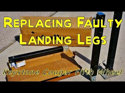 Love your RV video: Repair & Install of Fifth-Wheel Landing Legs