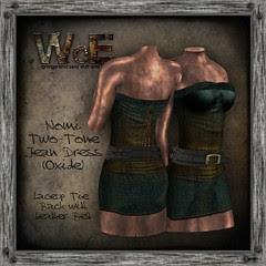 Nomi Twain Jean Dress (Oxide)