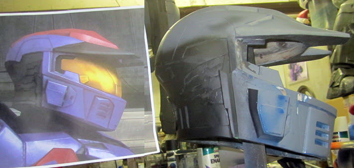 Mk5 Helmet Progress Side