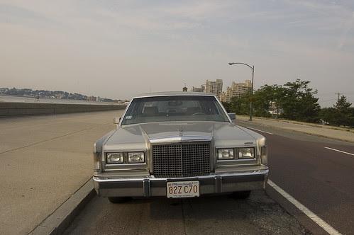Huge Old Lincoln.