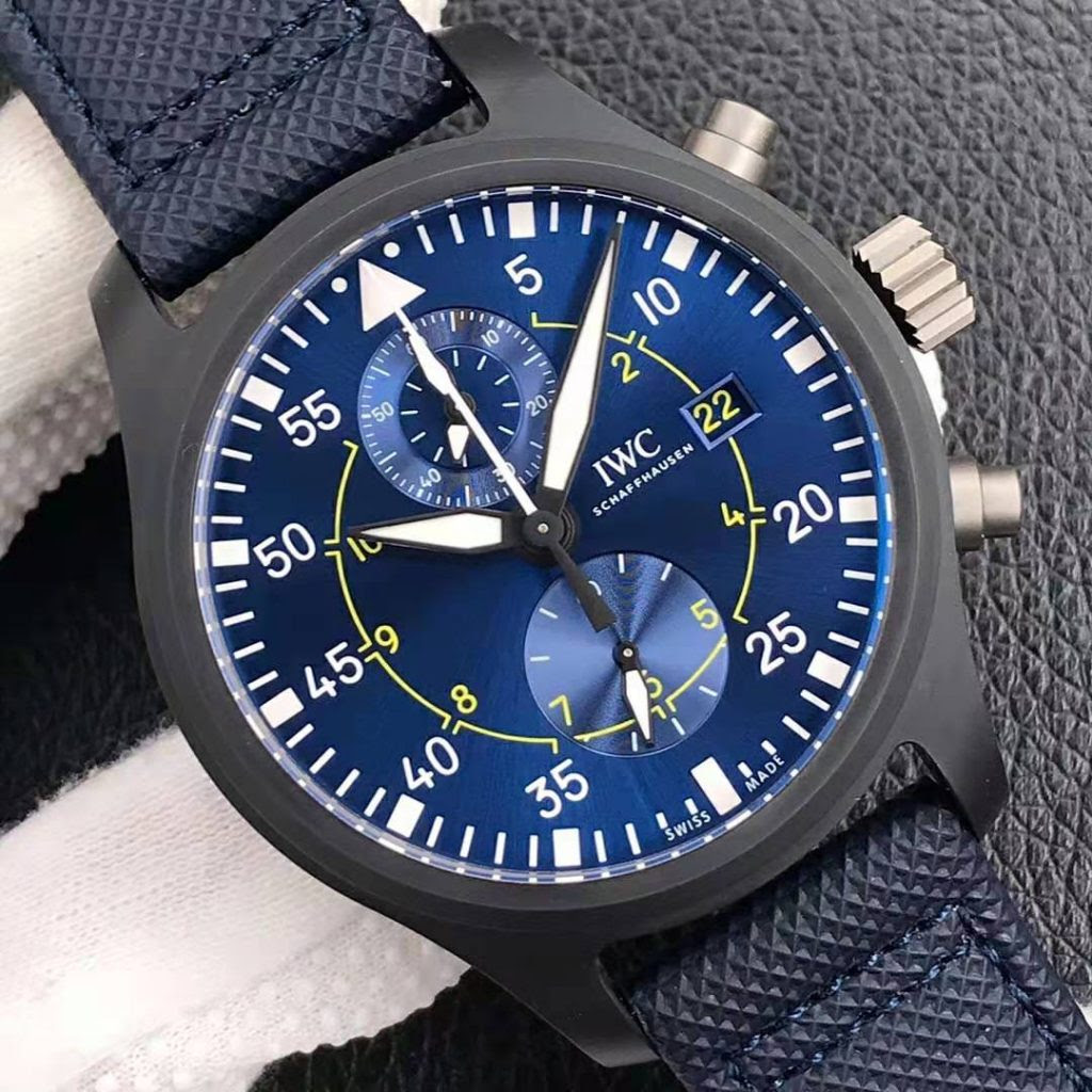IW389008 Blue Dial