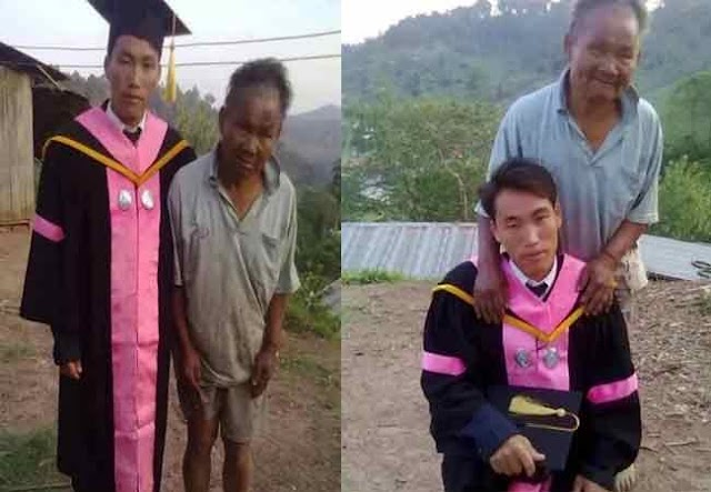 Touching Story! Poor farther sacrificed everything to send his son to school.