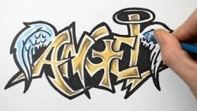 Graffiti Keren Simpel
