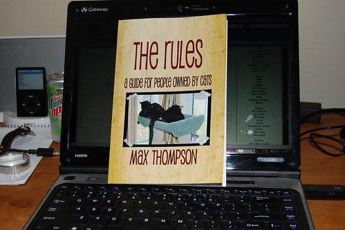 Max's new book