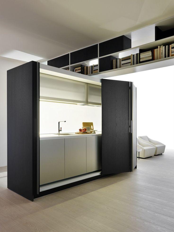 Linear #kitchen Tivalì by @moltenidada | #design Dante Bonuccelli