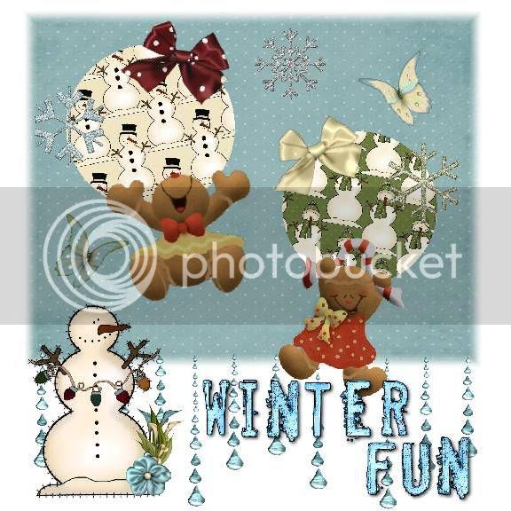 Winter,Clip Art Creations