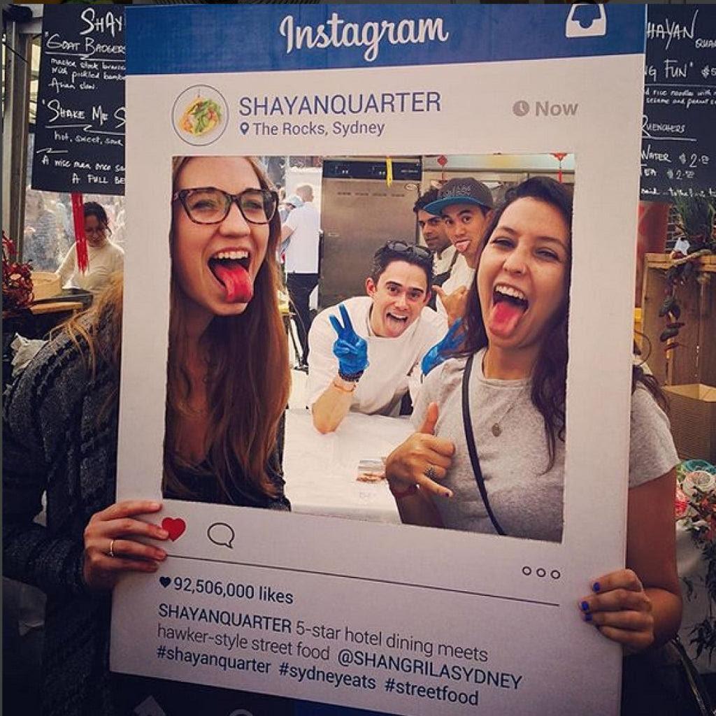 Instagram Frame Social Media Marketing Framesta