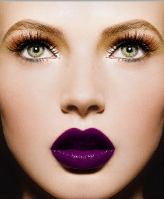 Fall 2014 Beauty Trend - 5 Ways To Rock Purple Lipstick