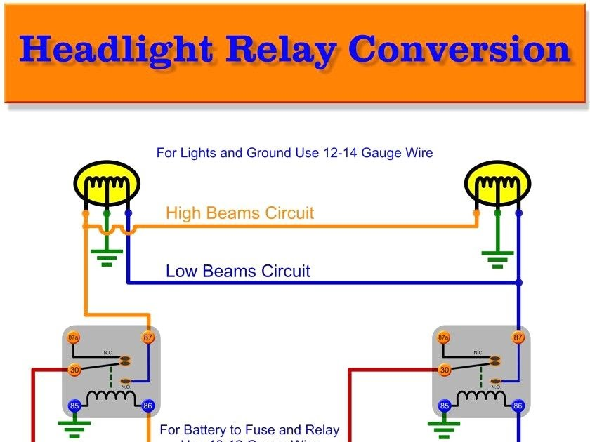 50 Beautiful 12 Volt 40 Amp Relay Wiring Diagram