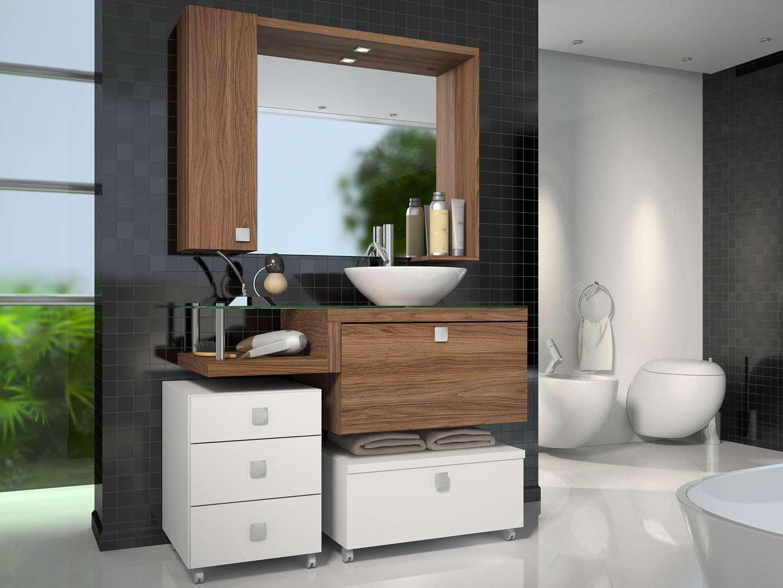 Tendências de armário para banheiros