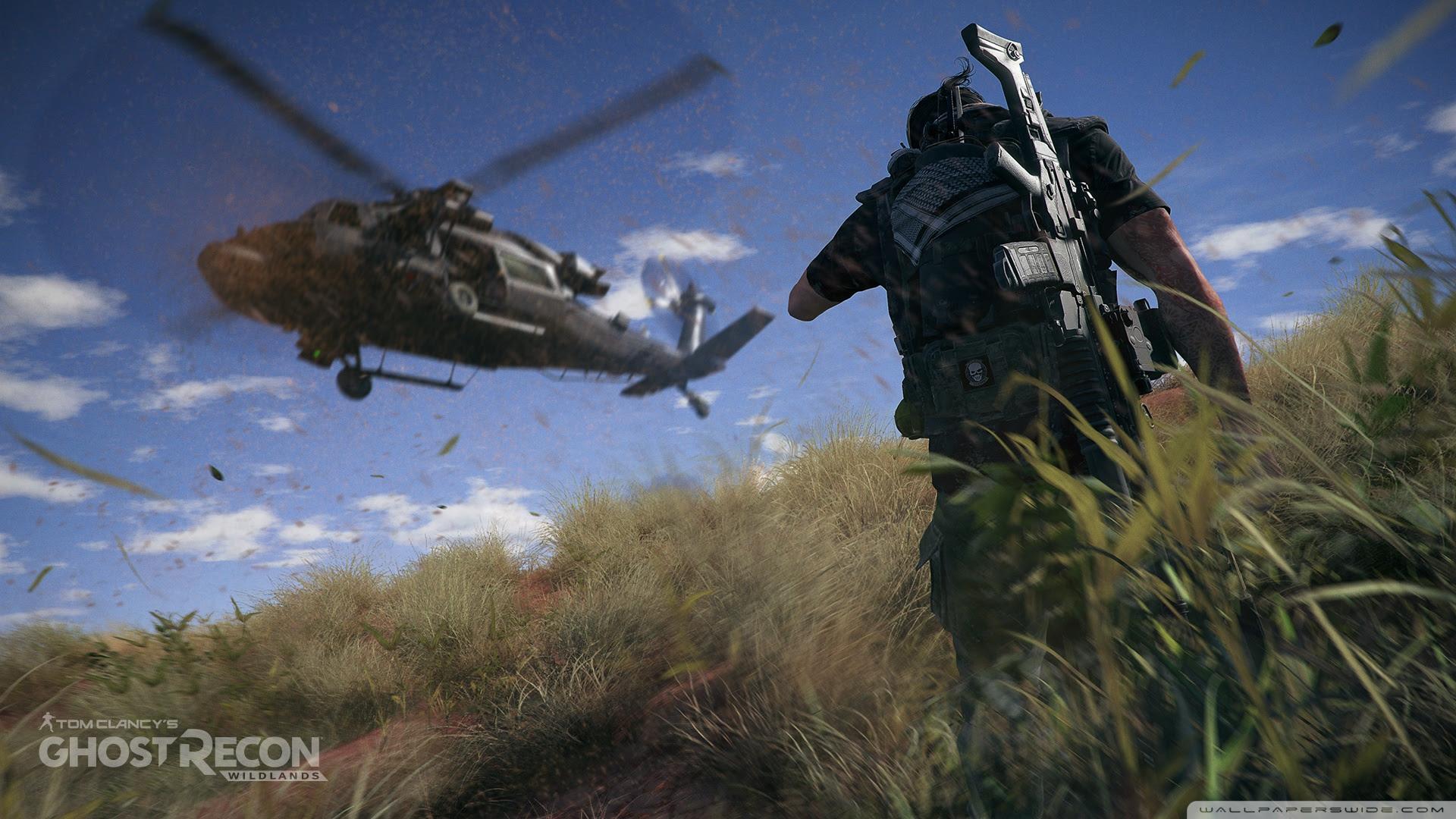 Tom Clancy S Ghost Recon Wildlands Helicopter Ultra Hd Desktop
