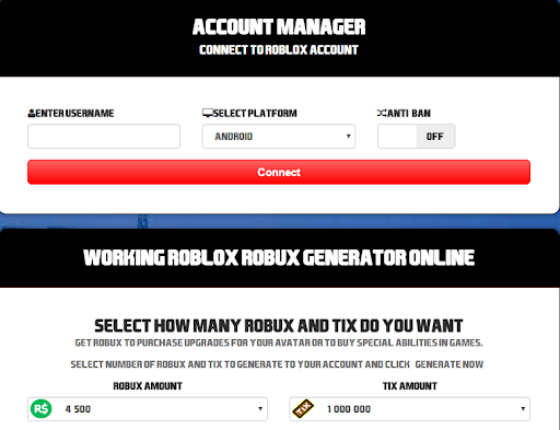 Roblox Account Generator With Robux