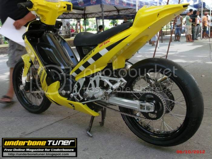 Underbone Tuner: Yamaha Vega Force : Customized
