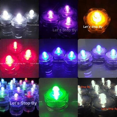 24 LED Submersible Waterproof Wedding Floral Decoration