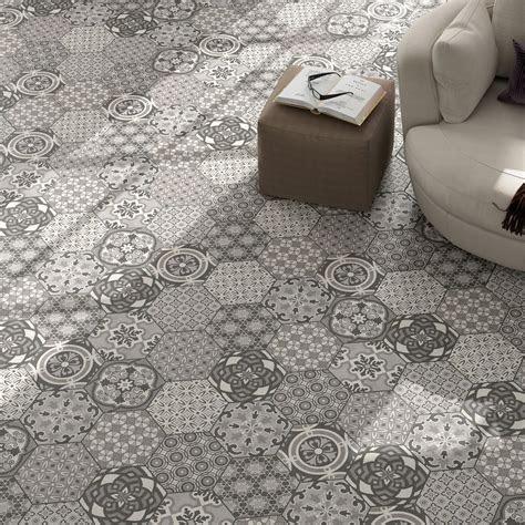 Cement Tiles Optic Hexagon Floor Tiles Alicante LZ69447