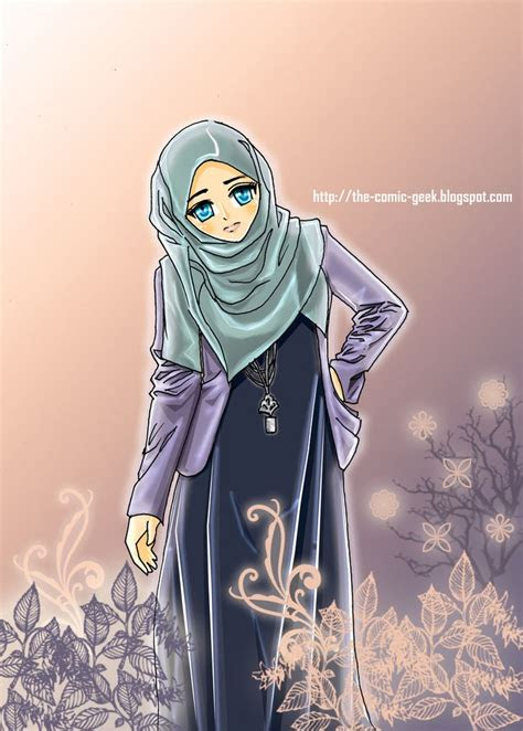 images  hijab anime cartoon manga