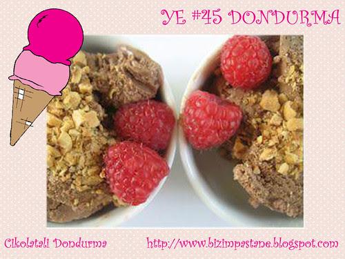 Cikolatali Dondurma - Bizim Pastane