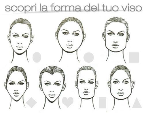 50 tagli di capelli in base alla forma del viso  - taglio di capelli e forma del viso