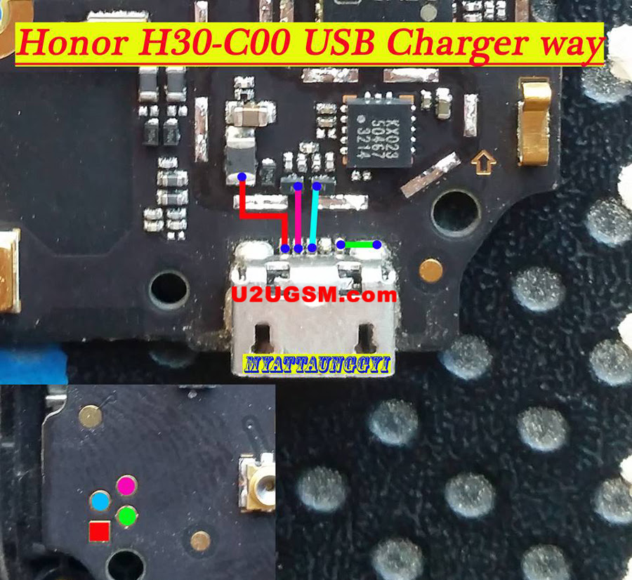Huawei Honor 3C 4G Usb Charging Problem Solution Jumper Ways