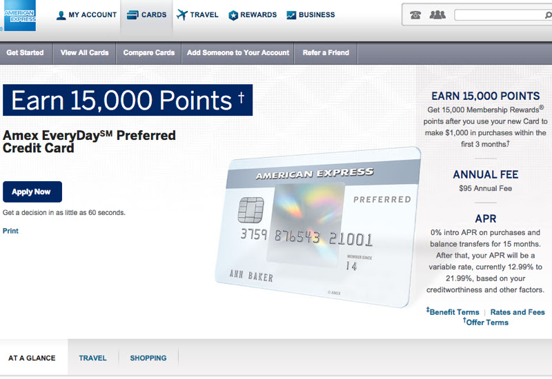 AMEX EveryDay Preferred Card Worth It or Better Credit ...