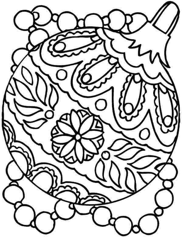 Print Free Christmas Coloring Pages For Kids - Drawing With Crayons