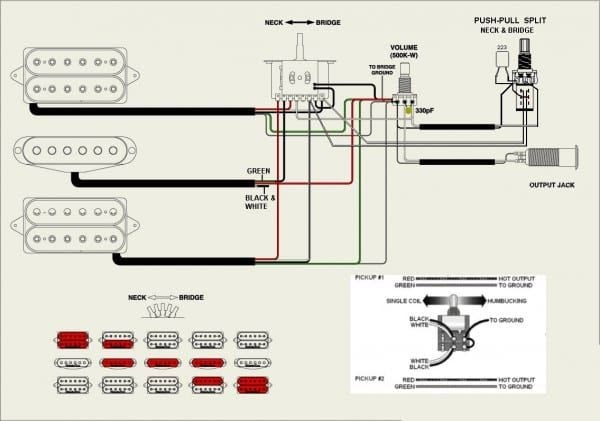 Squier Jazz B Wiring Diagram