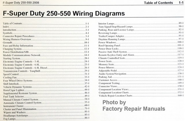 Wiring Diagram  33 2008 Ford F250 Super Duty Fuse Box Diagram