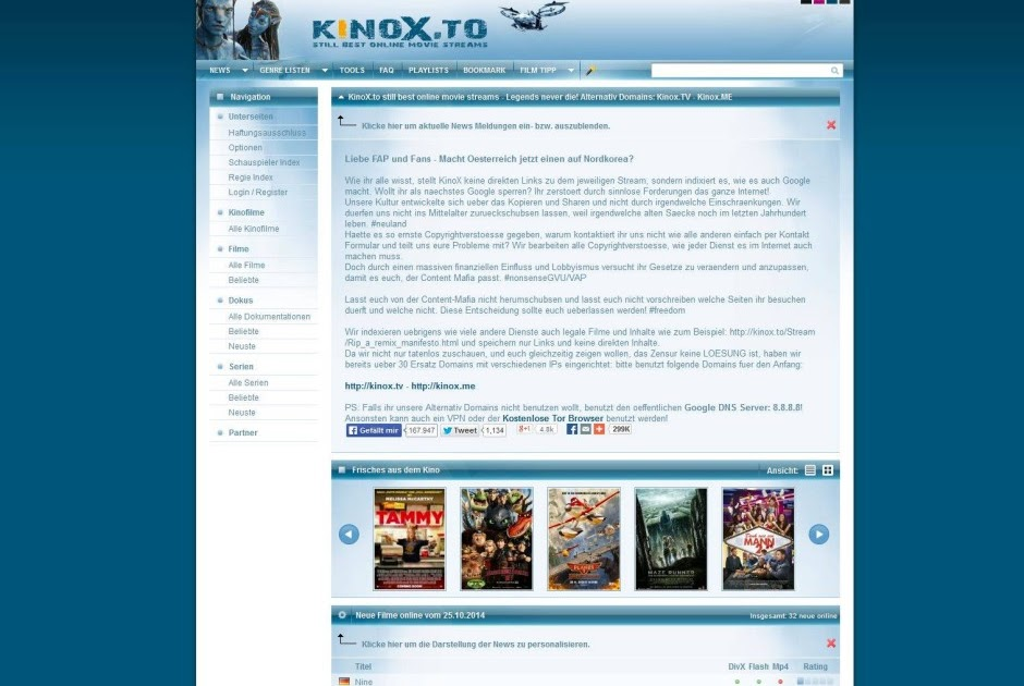 Wie Schaut Man Filme Auf Kinox.To