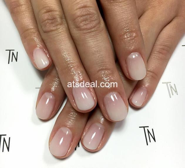 sheer white nail polish