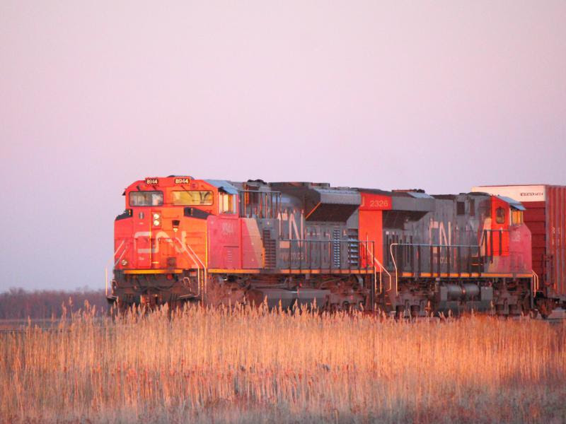 CN 8944 in Winnipeg