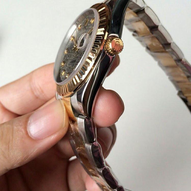 Replica Rolex 41mm Datejust Golden Crown