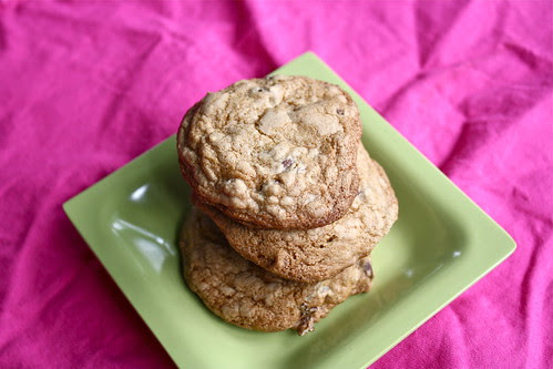 Maple Pecan Chocolate Chip Cookies