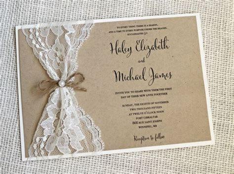 rustic wedding invitations best photos   Cute Wedding Ideas