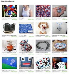 Everything Summer Etsy Treasury featuring Mamaka Mills