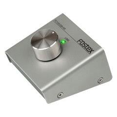 デスクトップで邪魔にならない小型サイズFOSTEX PC100USB-HR ハイレゾ対応DAC搭載ボリュームコ...