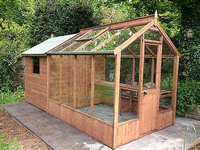 greenhouse  combined shed joinery  wood wooden