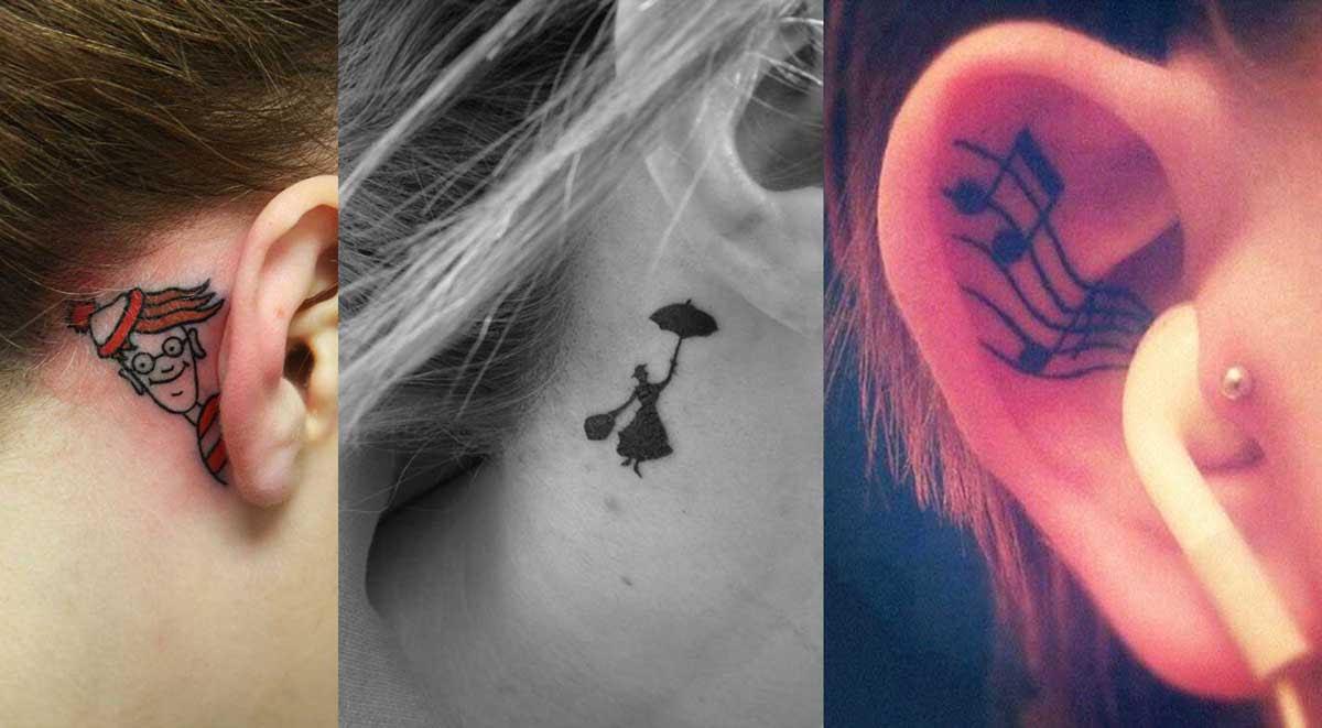 Los 17 Tatuajes De Orejas Más Creativos Que Le Darán Hambre A Mike