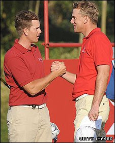 Henrik Stenson and Robert Karlsson