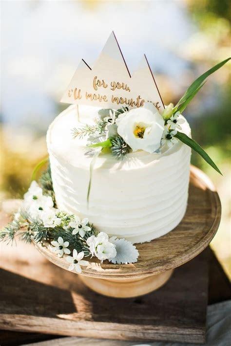 rustic mountain cake topper   Wedding & Party Ideas   100