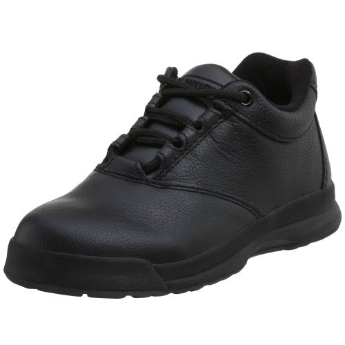 WORX by Red Wing Shoes Women's 5530 Oxford,Black,5.5 M