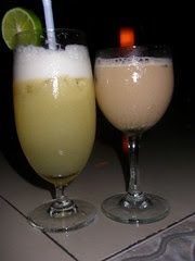 Pina Colada and Mudslide