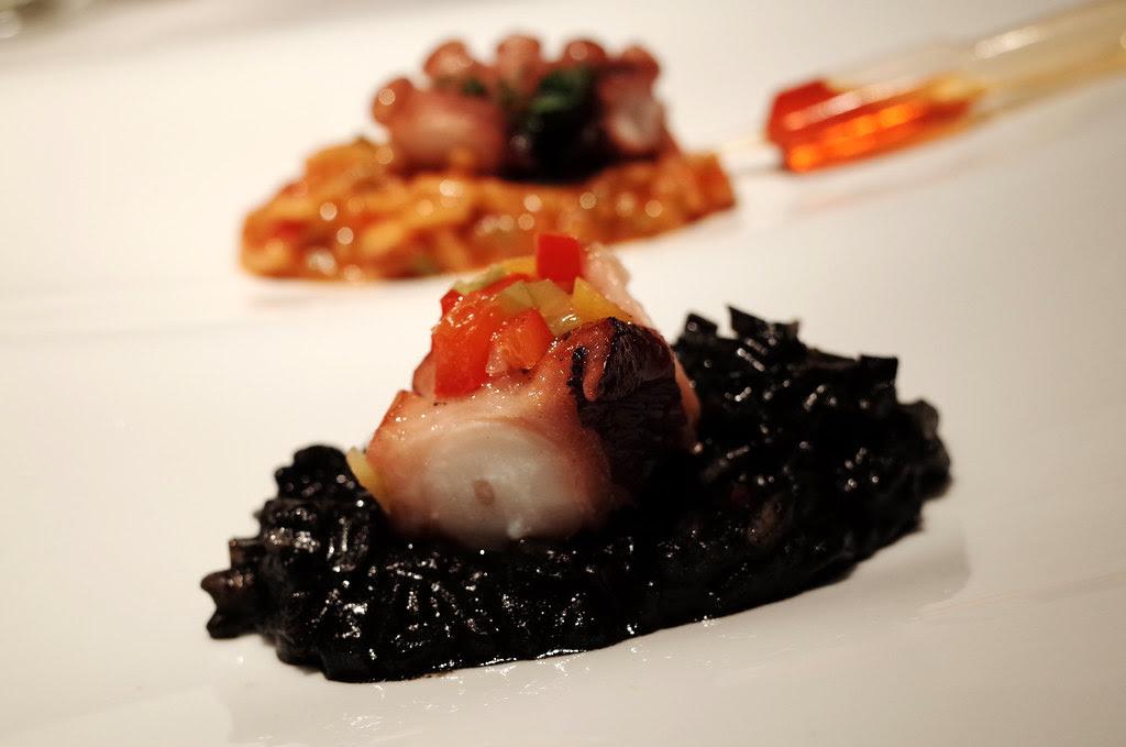 F 日本章魚四小時 襯二式燉飯 墨魚燉飯