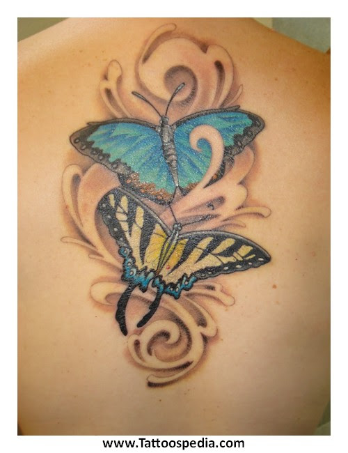 Butterfly Tattoo Designs With Kids Names 3