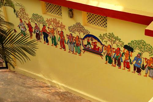 Pata Chitra on Wall