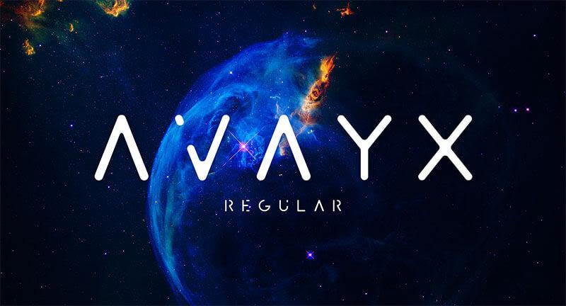 avayx-free-font