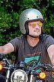 josh hutherson kicks off holiday weekend with bike ride 04
