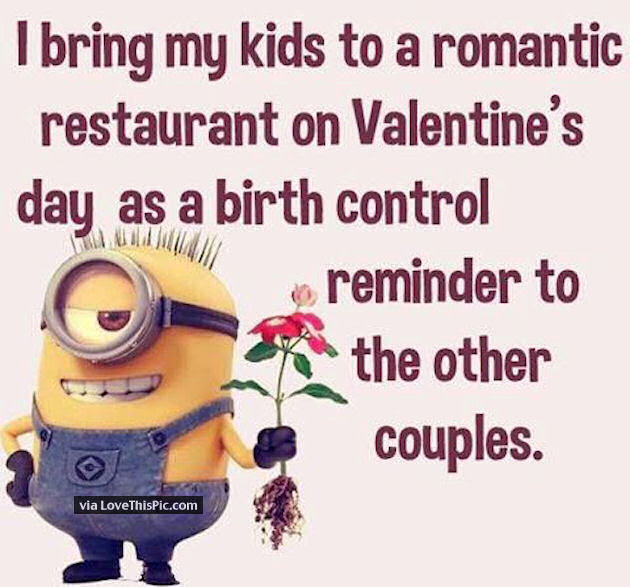 I Bring My Kids To Romantic Restaurants On Valentines Day As A Birth