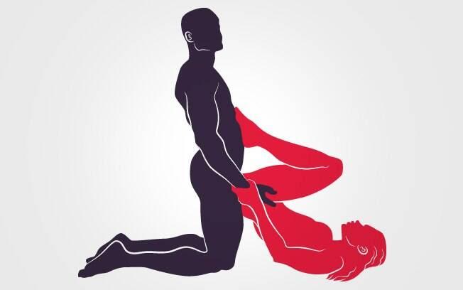 8. ESPOSA DE INDRA: A caprichosa Esposa de Indra é penetrada pelo parceiro ajoelhado. Ele sustenta seus pés com o abdome forte . Foto: Renato Munhoz (Arte iG)