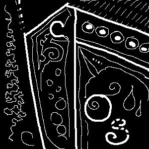 pixel scribble